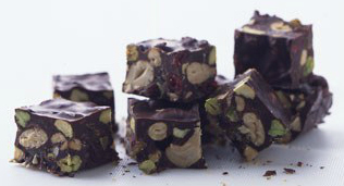 Dying for Chocolate: Fruit & Nut Chocolate Chunks for Sukkoth
