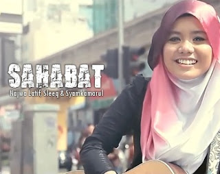 Lirik Lagu Najwa Latif Feat Syam Kamarul & Sleeq – Sahabat