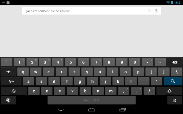 Keyboard Standar Android