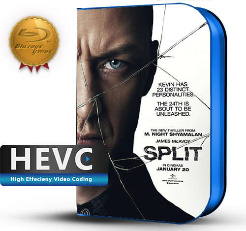 Split (2016) 1080P HEVC-8Bits BDRip Latino/Ingles (Subt.Esp)(Thriller)