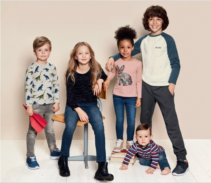 moda infantil cya