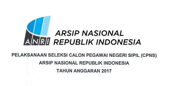 Lowongan Kerja CPNS Arsip Nasional