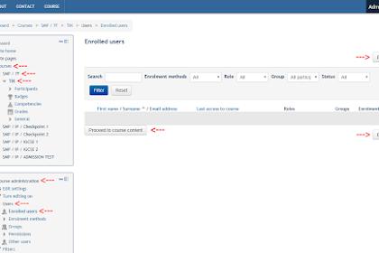 Mendaftarkan Peserta/Enroll Users Moodle [Administrator/Manager]