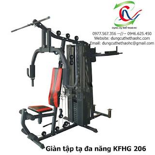 Giàn tập tạ đa năng KFHG 206