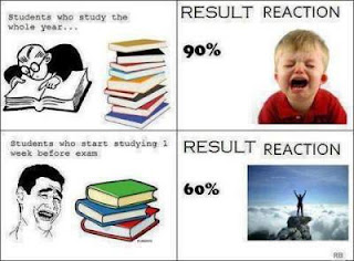 funny reactions after exam results