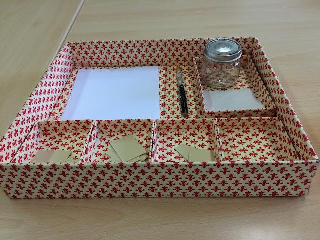scatola incollatura montessoriana