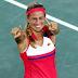 Mónica Puig acaba de ganar la primera medalla de oro para Puerto Rico en la historia de las olimpiadas