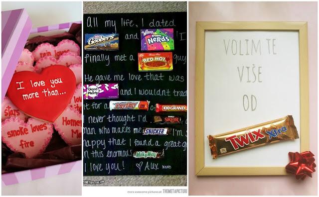 Valentinovo - poklon za njega