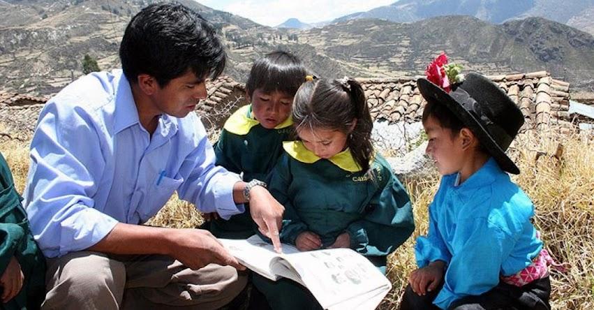 Minedu dispone acciones para mejorar la educación rural