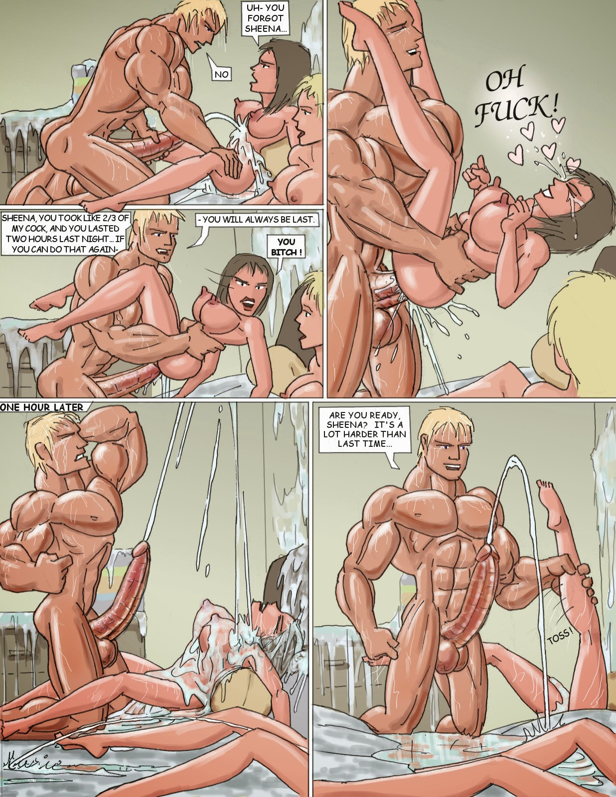 I am ready to give my first handjob joi - 1 part 1
