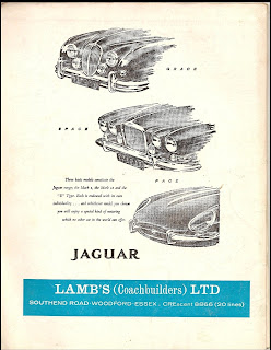 Lambs (Coachbuilders) Ltd 1963 advert