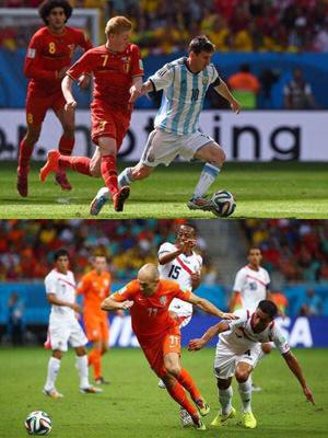 2014FIFAワールドカップ ベスト4