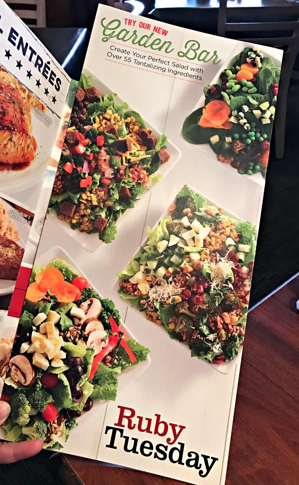 Create Your Perfect Salad Ruby Tuesday Garden Bar