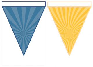 plantilla banderín
