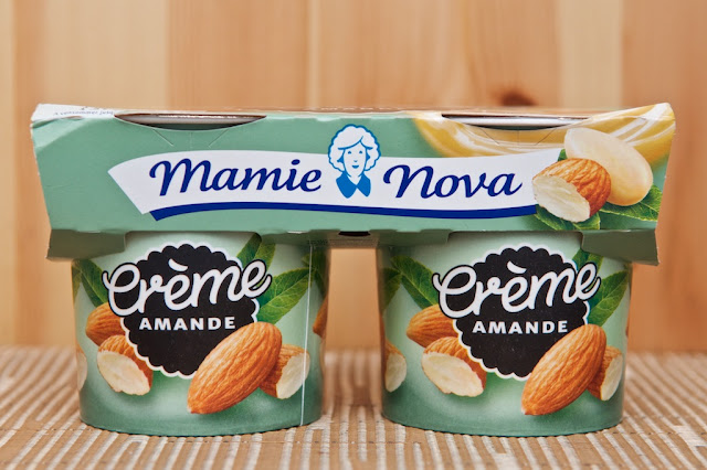 Crème Dessert Gourmande Amande Mamie Nova - Dessert Gourmand Mamie Nova - Crème Amande - Dessert - Frais - Avis - Test - Mamie Nova - Food