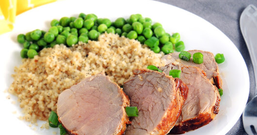 Roasted Pork Tenderloin in Balsamic-Rosemary Marinade