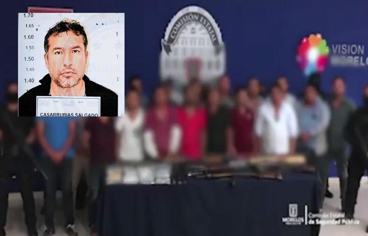 VIDEO: Jueza de Morelos libera a siete sicarios integrantes de Sidronio Casarrubias, líder de Guerreros Unidos.