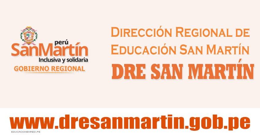 Dre san mart n plazas vacantes para el proceso de for Plazas de docentes 2016