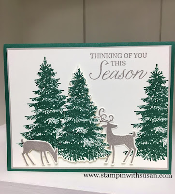 www.stampingwithsusan.com, Dashing Deer Bundle, Stampin' Up!