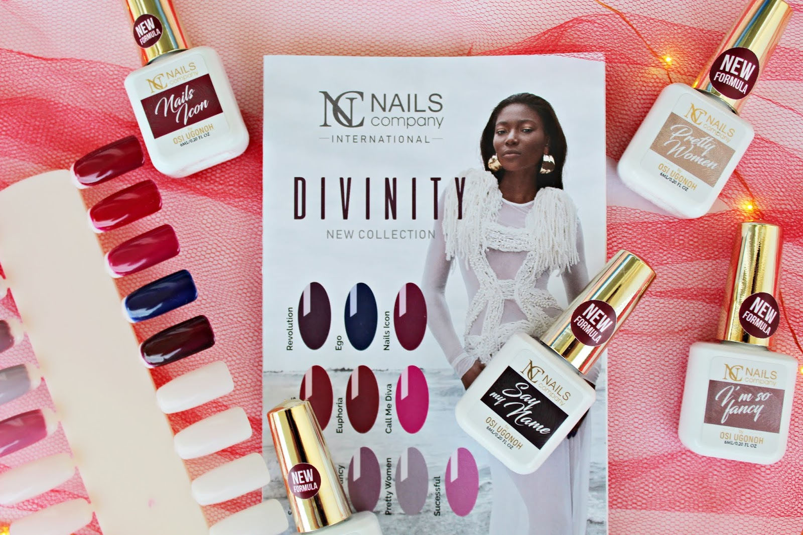 Nails Company - DIVINITY new collection by Osi Ugonoh
