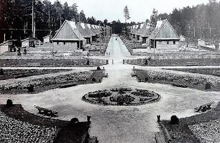Robotnicze Osiedle w Janowej Dolinie w woj. wołyńskim - 1938