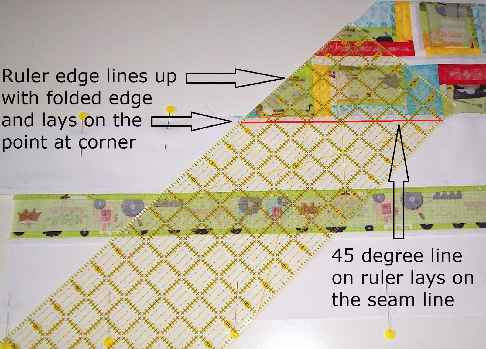 Sew Fresh Quilts: Mitered Border Quilt Tutorial : mitered borders on quilts - Adamdwight.com