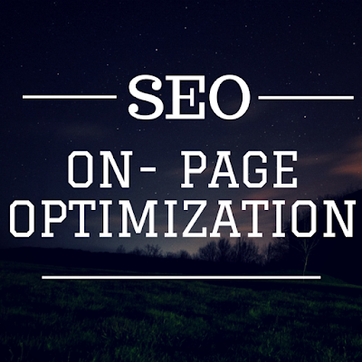 On- Page Optimization