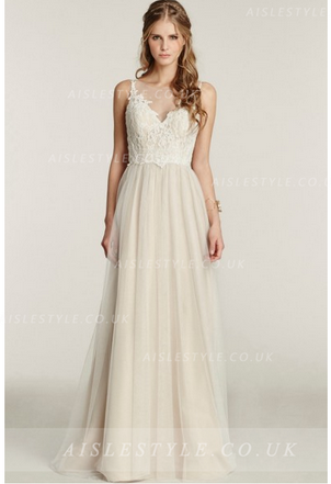 http://www.aislestyle.co.uk/illusion-neck-lace-aline-long-tulle-beach-wedding-dress-p-7873.html