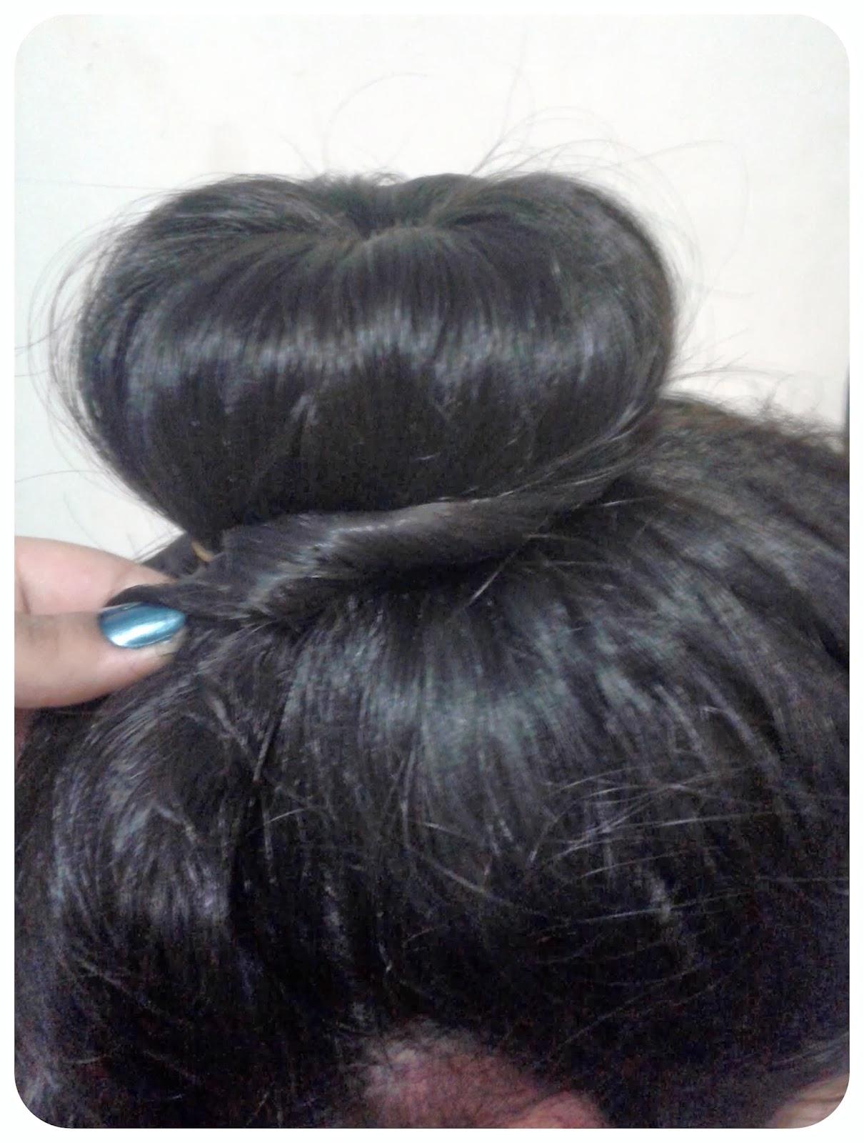Peinados  Rodete con dona (Donut Bun)  eb07dcdb0756