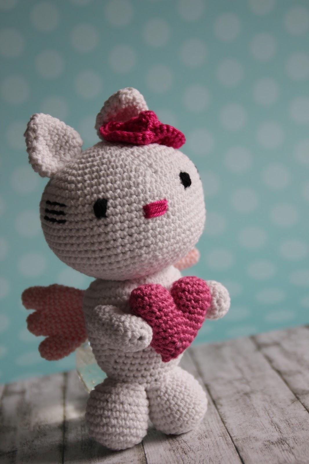 Ohne Kreativität Ohne Mich Gehäkelte Hello Kitty
