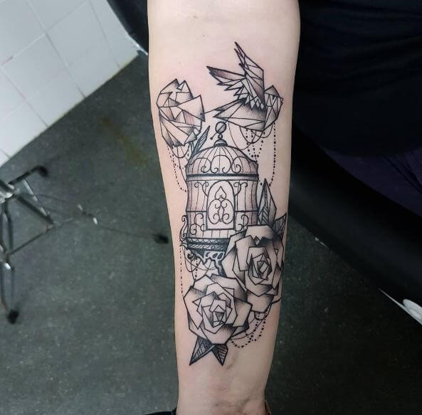 50 Best Bird Cage Tattoos For Girls 2019 Tattoo Ideas 2019
