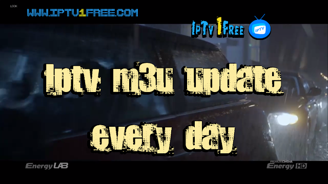Iptv m3u update every day by iptv1free