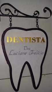 placa personalizada dentista