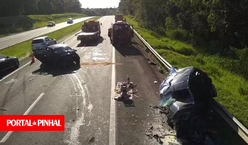 Pai e filha morrem em acidente na SP-147 que liga Mogi Mirim à Itapira
