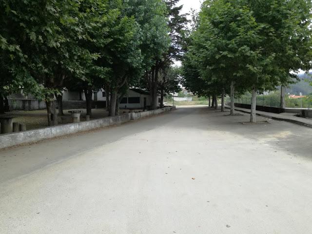 Parque de Merendas ao lado do Parque de campismo de Serpins