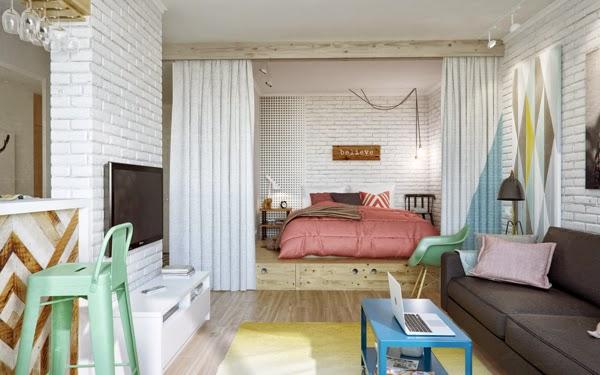 Tips Desain Interior Kreatif Rumah Kecil