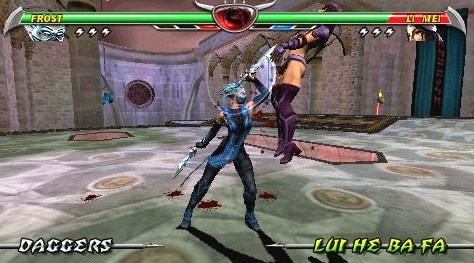Game Mortal Kombat Unchained PSP Cso Android