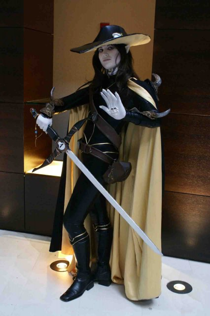 Cosplay para Halloween Alucar Vampire Hunter D