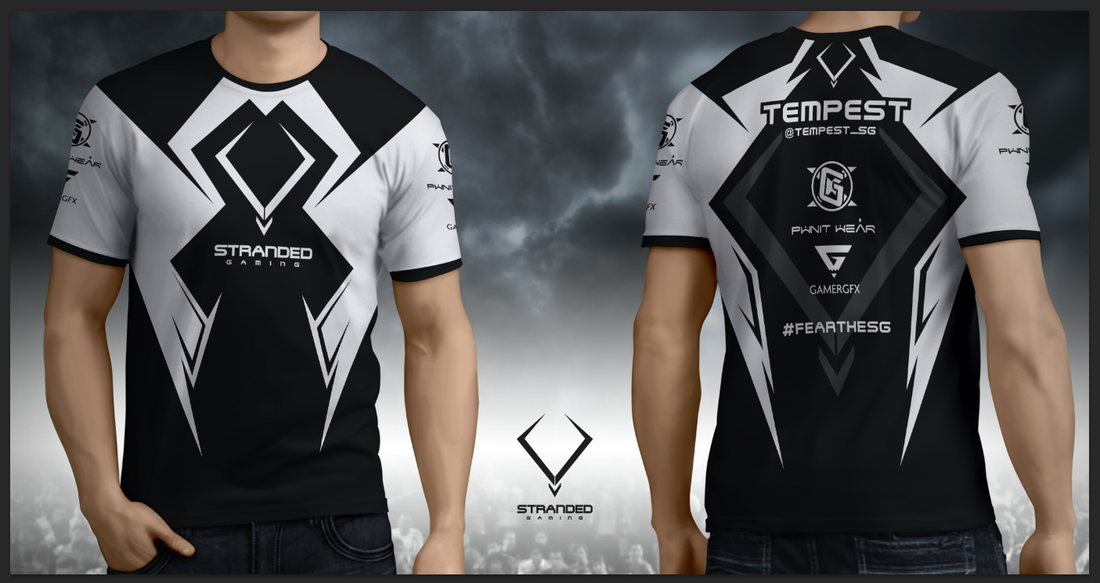 1ba245b5a custom sublimated gamer jerseys with your designs and logos