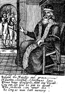 Josiah King's The Examination and Tryal of Father Christmas
