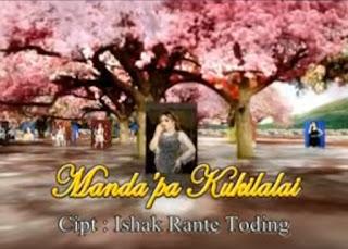 Lirik Lagu Manda'pa Kukilalai (Yenni Paseru)