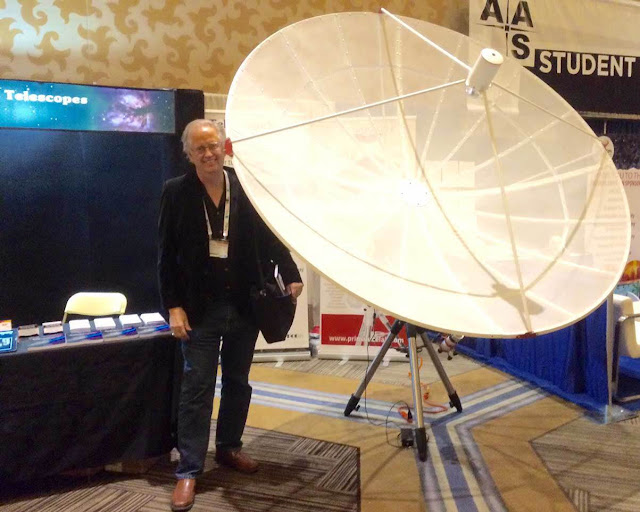 Resident Astronomer dreams of small Amateur Radio Telescope
