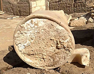 Cheese found in tomb