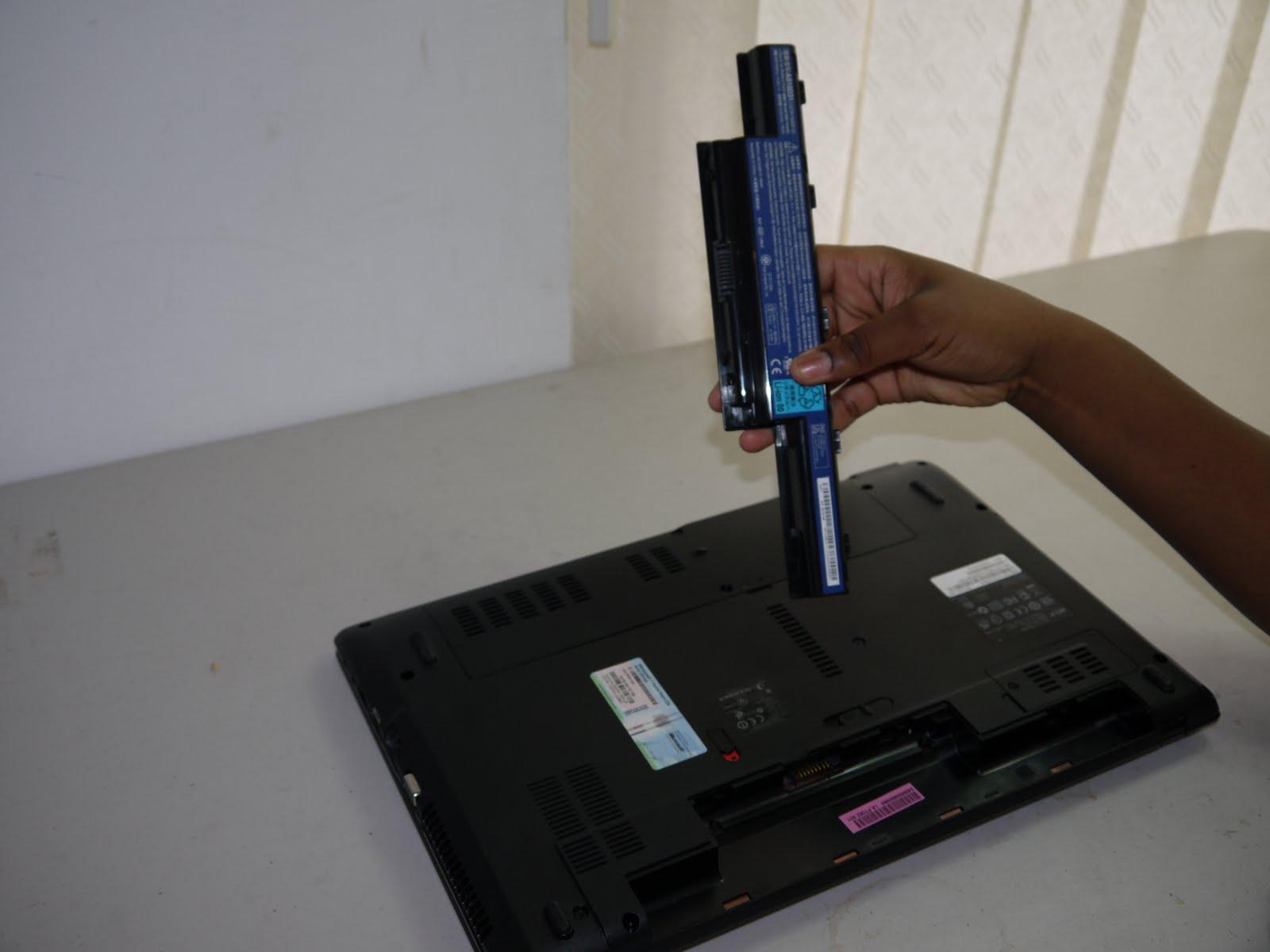 Acer Laptop Battery Repair Photos