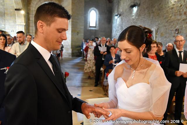 photo échange des alliances, reportage mariage