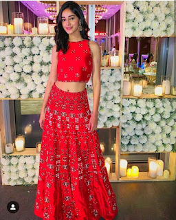 Ananya Panday in gown pic