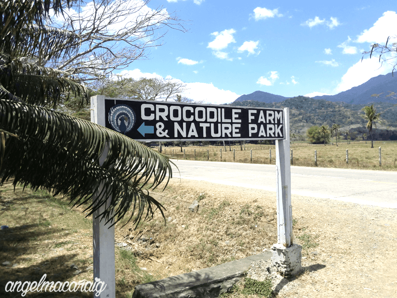 Crocodile Farm and Nature Park Signage