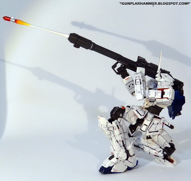 RG 1/144 Unicorn Gundam RX-0 Realgrade no paint Bazooka