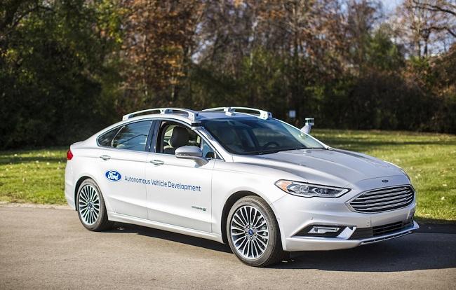 Xe tự lái của Ford