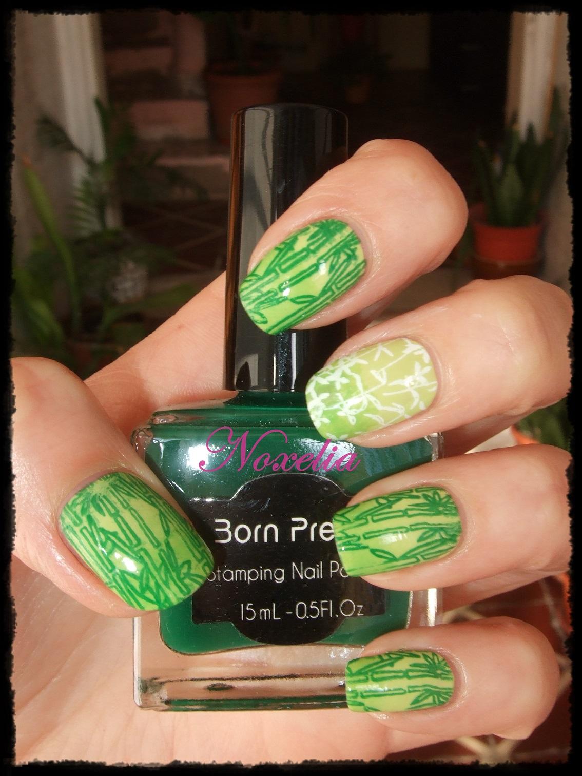 Noxelia: Stamping nail art: Colaboración con BornPrettyStore LXXVII ...